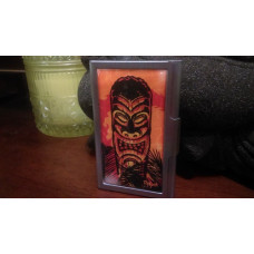 Night of the Tiki Business Card Case