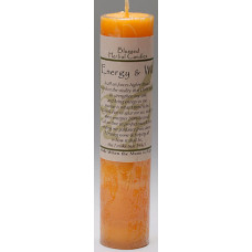 Coventry Creations Energy and Will Blessed Herbal Candle