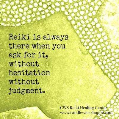 Morning Coffee with Reiki: Reiki is always there.