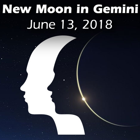New Moon in Gemini June 13 2018